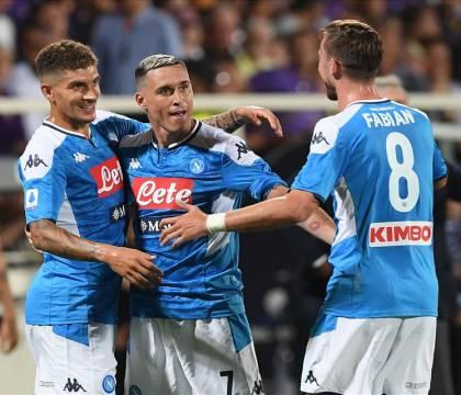 Nella prima partita senza Icardi |  il Napoli realizza quattro gol