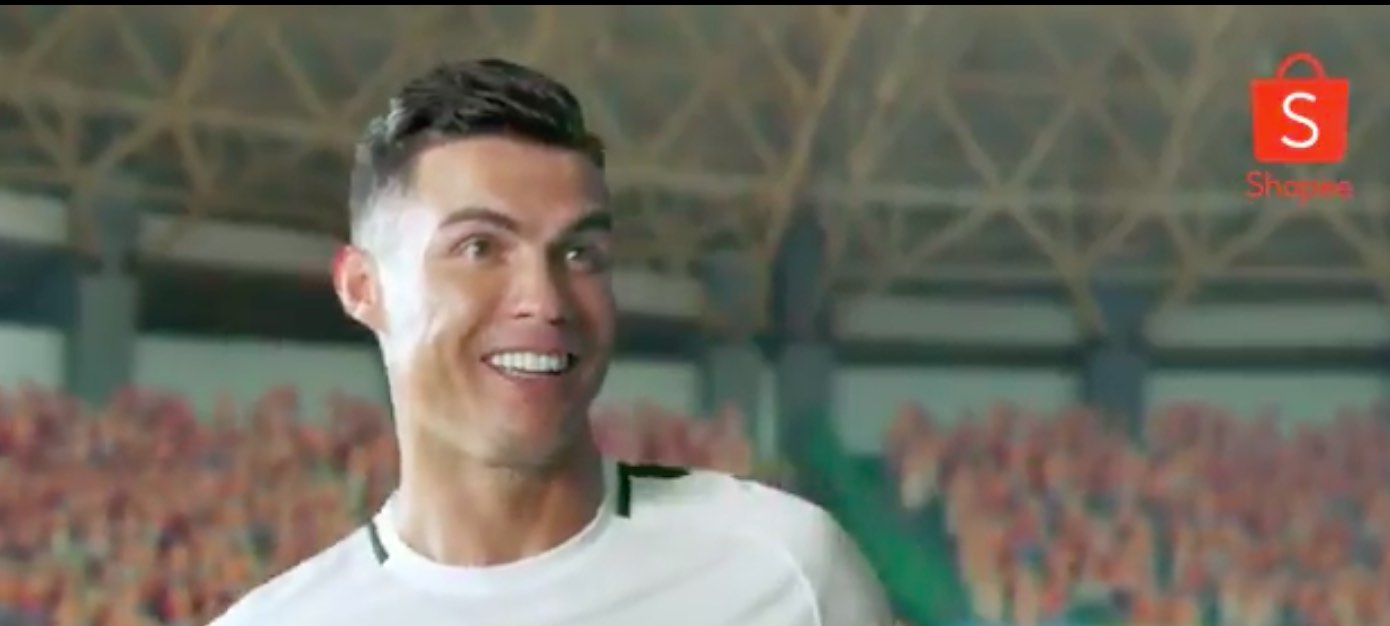 Subito virale il nuovo spot di Cristiano Ronaldo per Shopee Singapore
