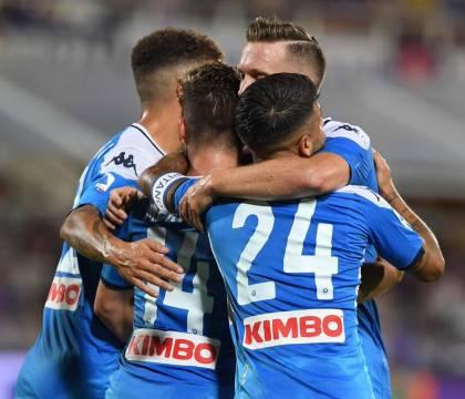 Fiorentina Napoli 1 2 p.t.: in tre minuti Mertens (soprattut
