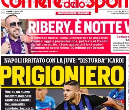 Corriere dello Sport: De Laurentiis è convinto che ci sia la