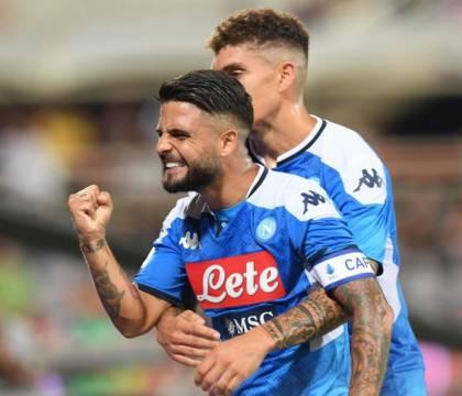 Napoli bruttino e testardo: vince 4 3 e rovina la festa di C