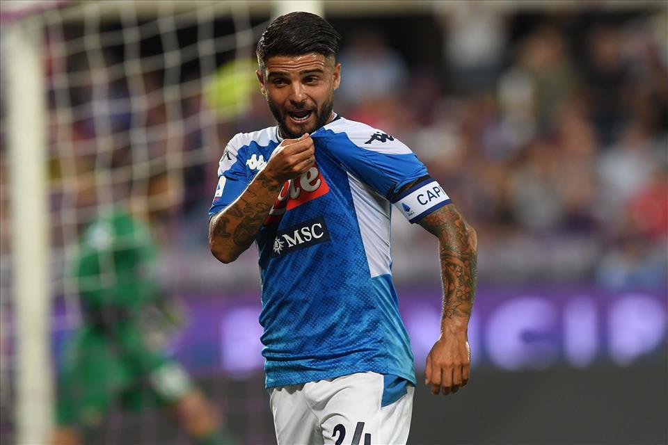 Insigne è finalmente diventato il capitano del Napoli
