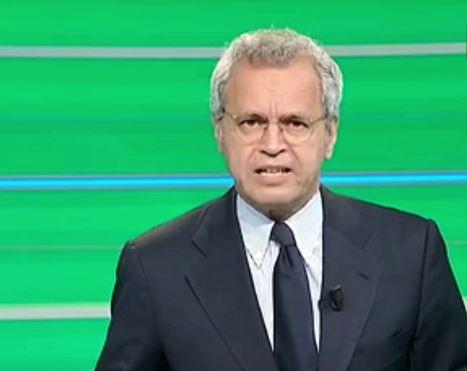 Mentana contro la Juventus per il divieto di accesso allo stadio ai napoletani