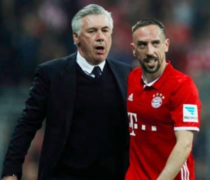 Ribery arriva a Firenze pronto a sfidare ancora Ancelotti