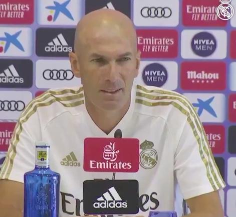 """Zidane: """"Saprete domani se James giocherà contro il Villadolid"""""""