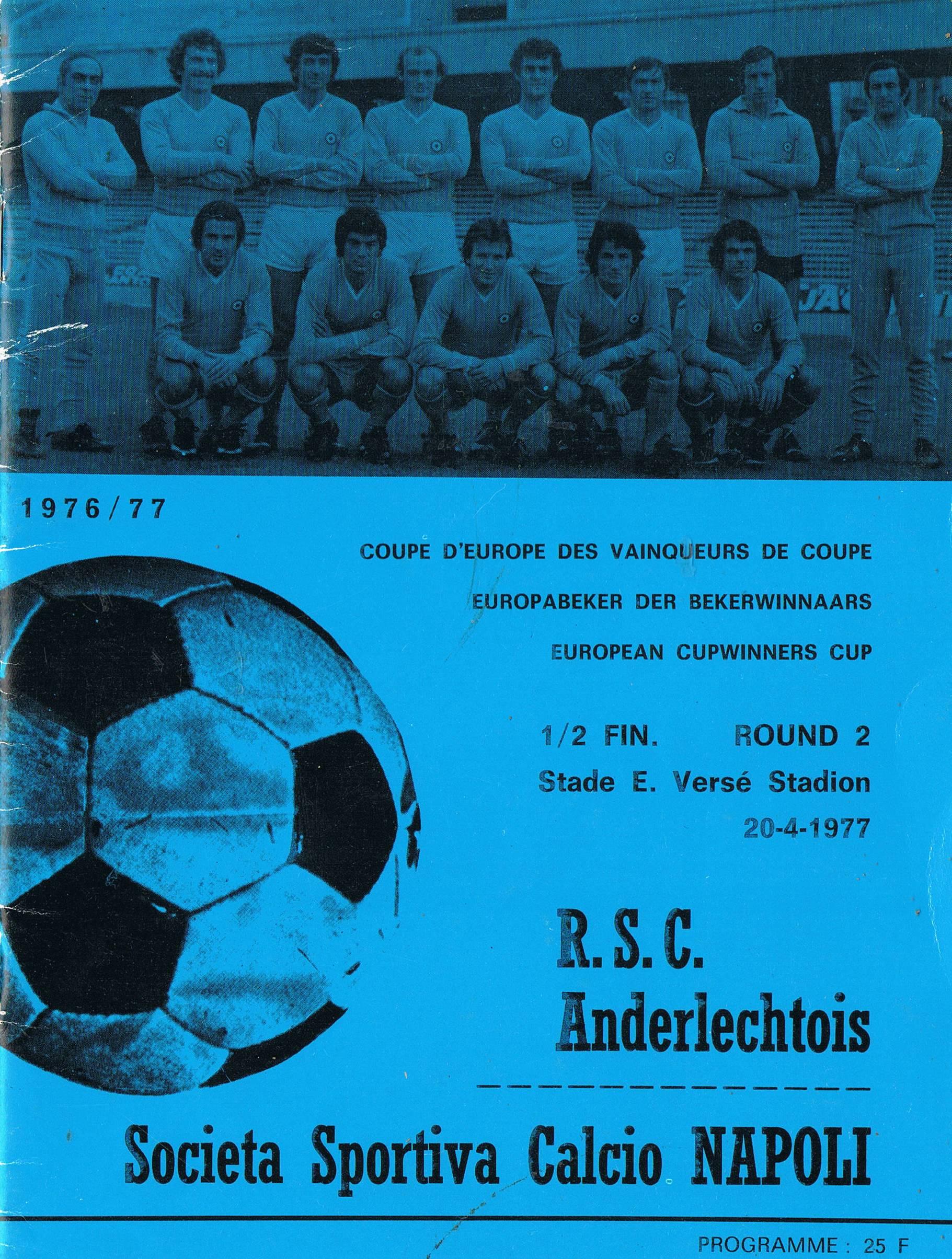 Il Napoli e il Belgio: pochi precedenti, uno (ahinoi) indimenticabile: l'Anderlecht