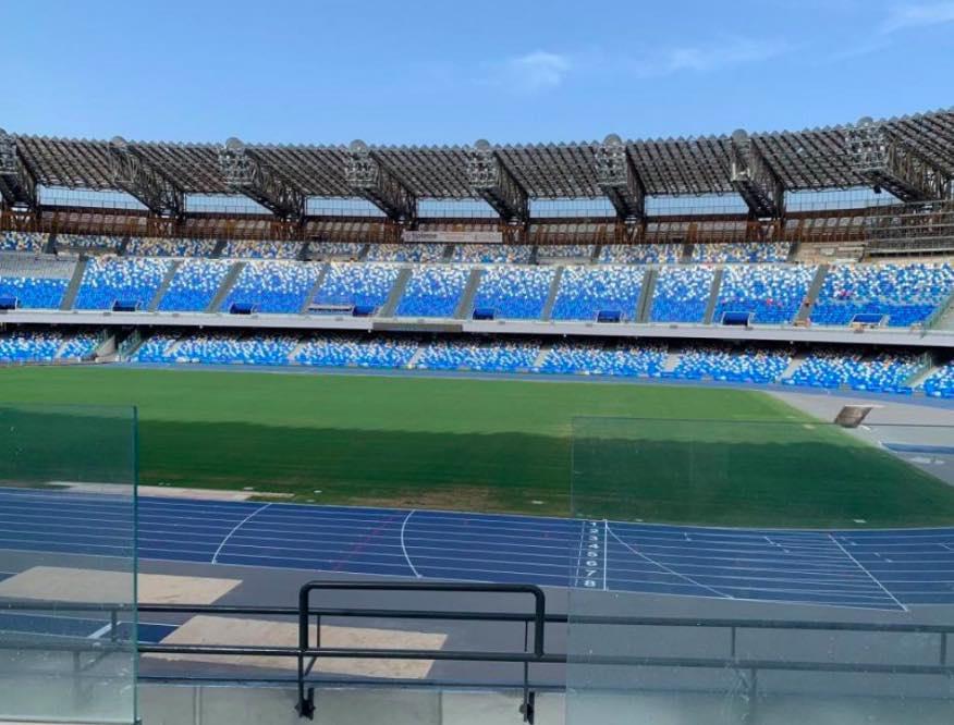 Napoli-Parma: si gioca a porte aperte. Gara spostata alle 18.30
