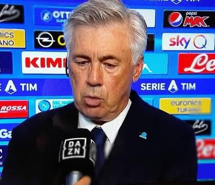 """Ancelotti: """"Ottima gestione della partita. Adesso piedi per"""