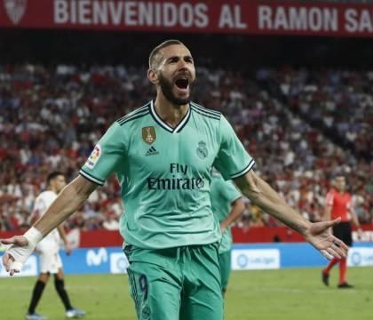 Suarez e Benzema, saper giocare a calcio non ha età: il derby di Madrid finisce 1 1