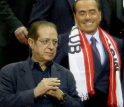 Berlusconi a Gazidis |  «Ha salvato il Milan dalla D? Una frase da dire al cesso»
