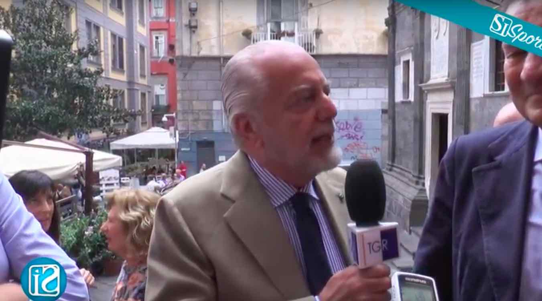 """Zazzaroni risponde a De Laurentiis: """"E' questa la sua idea di democrazia e informazione?"""""""