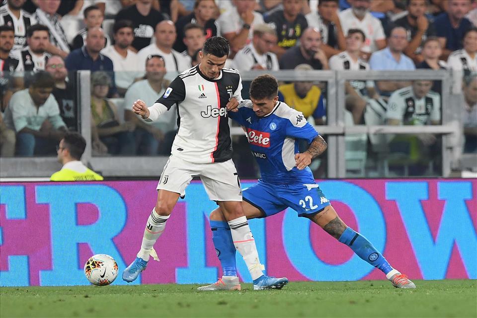 Di Lorenzo uno dei migliori del match contro la Juve