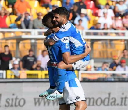 Lecce Napoli 1 4, massimo risultato minimo sforzo