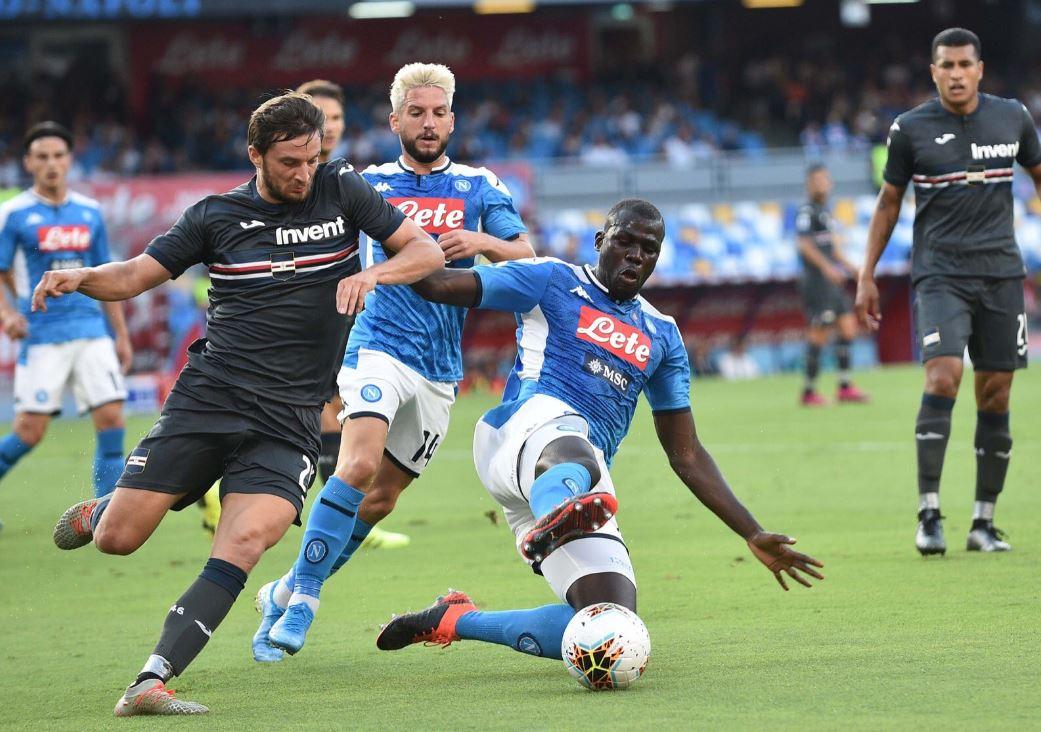 Il Napoli ha ancora mezza squadra che lavora a parte