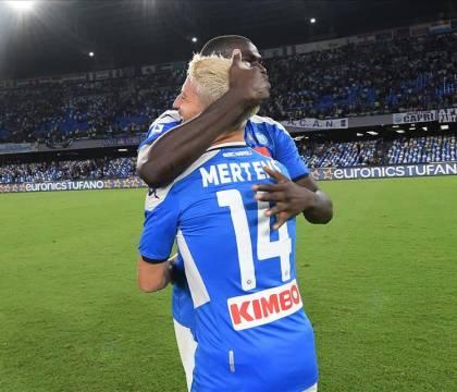 CorMez: Mertens e Koulibaly vicini al ritorno in gruppo
