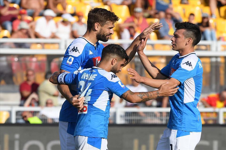 Lecce-Napoli 1-4, pagelle / Il turnover è questione da maestri. Llorente centravanti old style