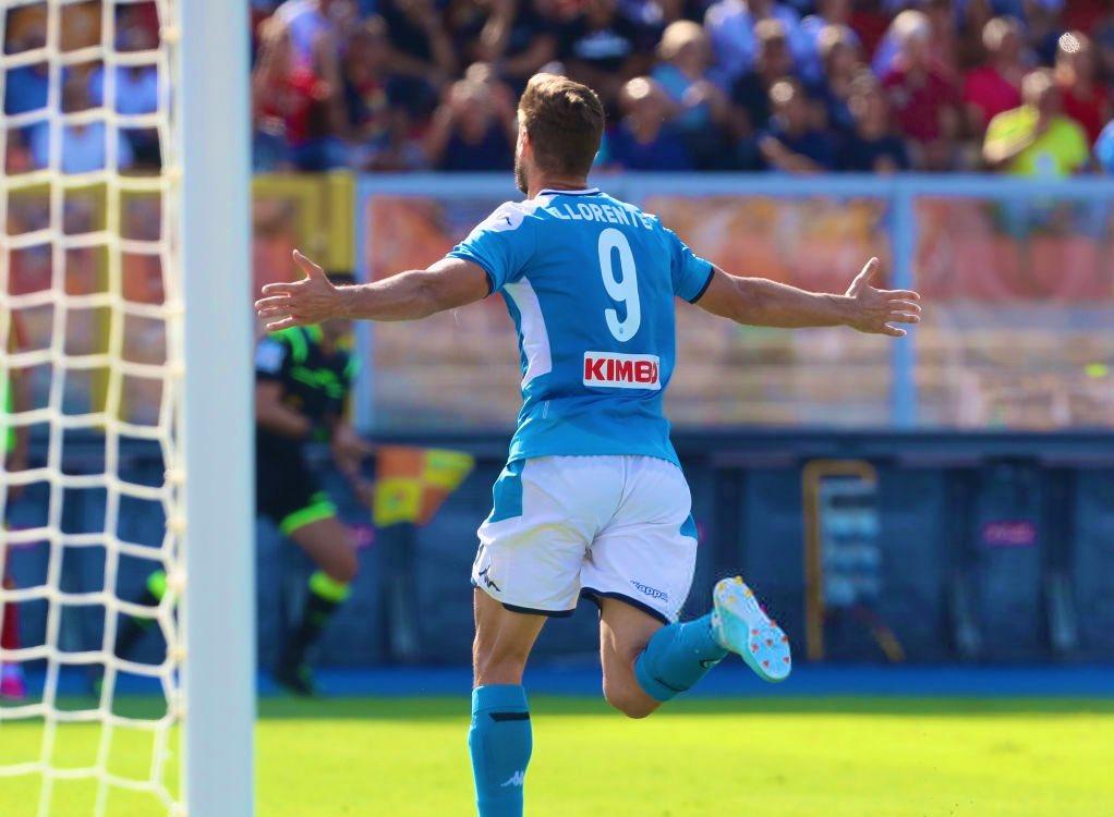 CorSport: Llorente miglior marcatore del Napoli. 1 gol ogni 90 minuti (giocando meno di tutti)