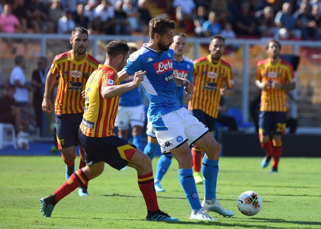 Lecce-Napoli 1-4: doppietta di Llorente, i pensionati passano a due. Confermata la legge di Kolarov