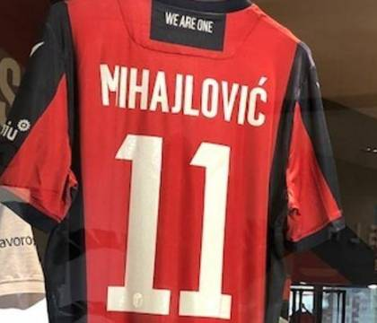 A Bologna la maglia più venduta è quella di  Mihajlovic