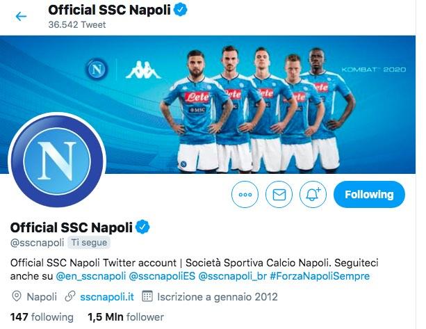 Calcio e Finanza: il Napoli batte la Juve nella crescita social