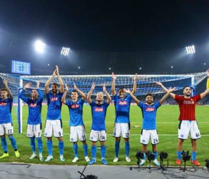 "De Laurentiis: ""Una partita straordinaria. Orgoglioso di ess"