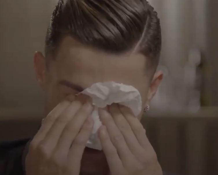 Le lacrime di Ronaldo fanno più notizia dei suoi gol (almeno per il momento)