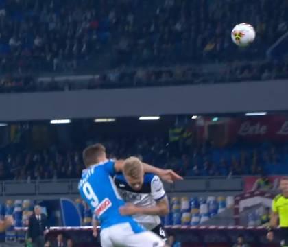 Rizzoli: «Errore in Napoli Atalanta, l'arbitro doveva ammoni