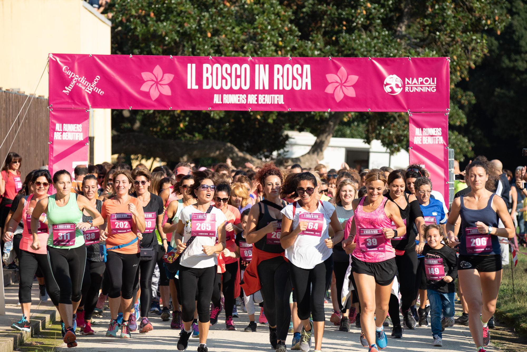 Bosco in rosa. Una corsa al femminile tra i capolavori di Capodimonte