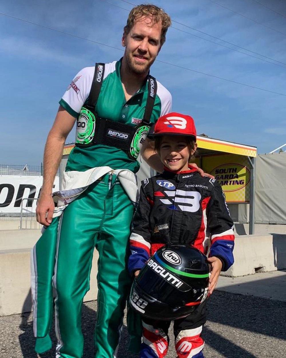 La storia di Pietro, 7 anni, campione di kart. Da grande vuole diventare come Vettel