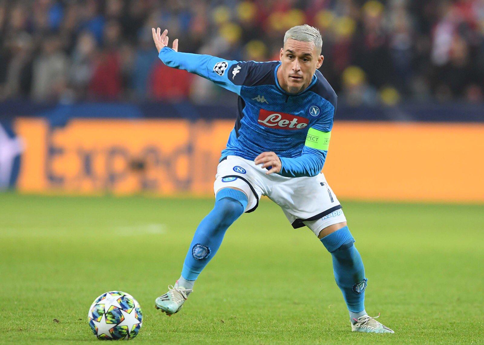 CorSport: Callejon 320 presenze col Napoli, è ad un passo dal raggiungere Ciro Ferrara