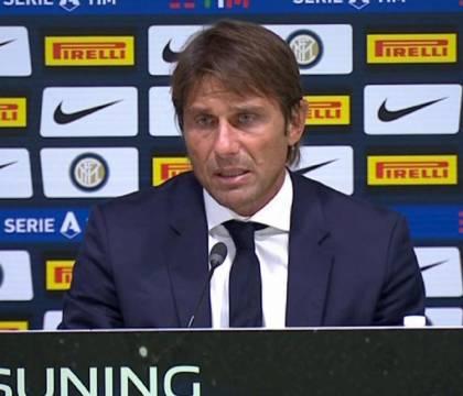 """Conte: """"I fischi del pubblico non aiutano l'Inter. I tifosi ci devono supportare"""""""