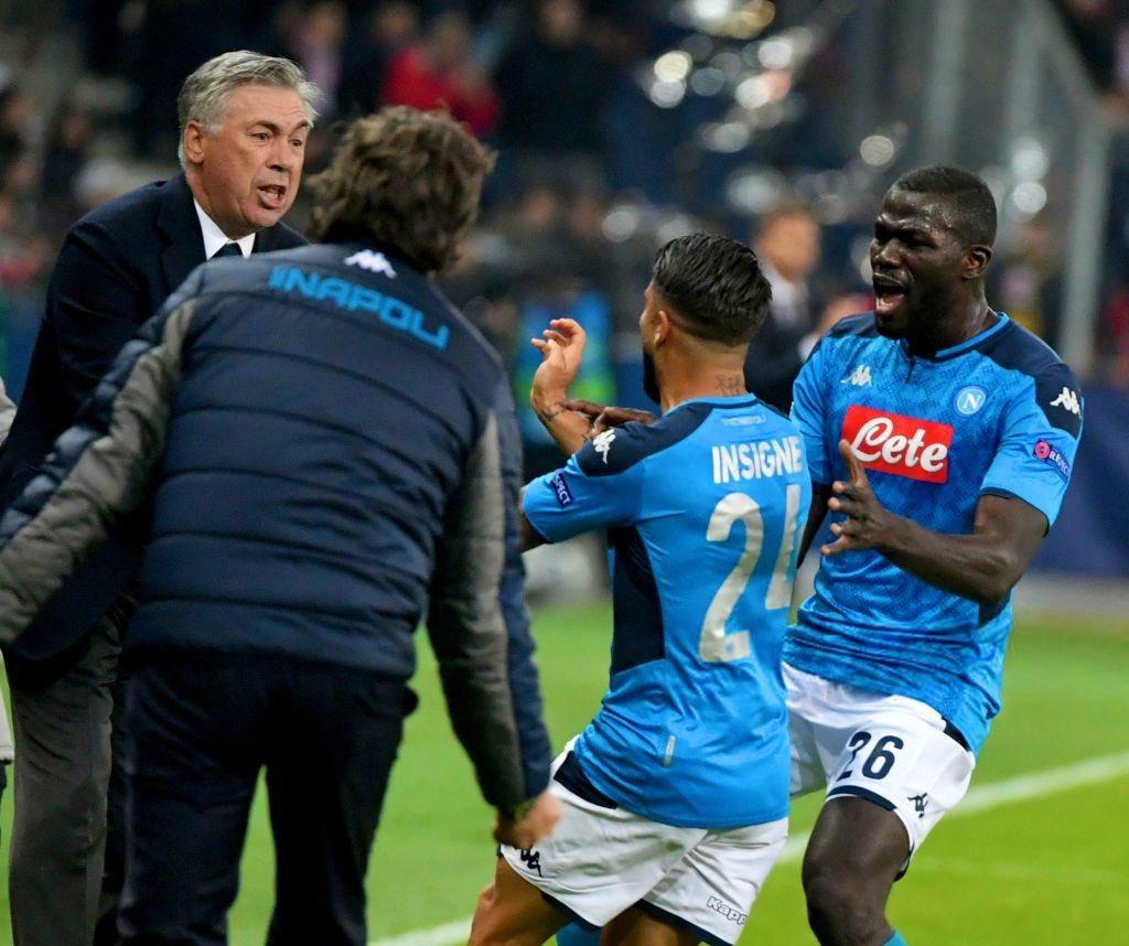 """Conte: """"Bello l'abbraccio di Insigne ad Ancelotti"""""""