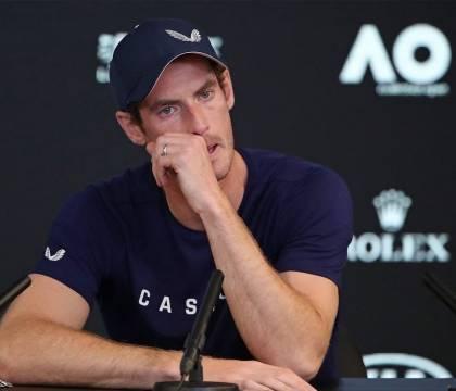 """Murray salta gli Australian Open """"Sono devastato"""""""