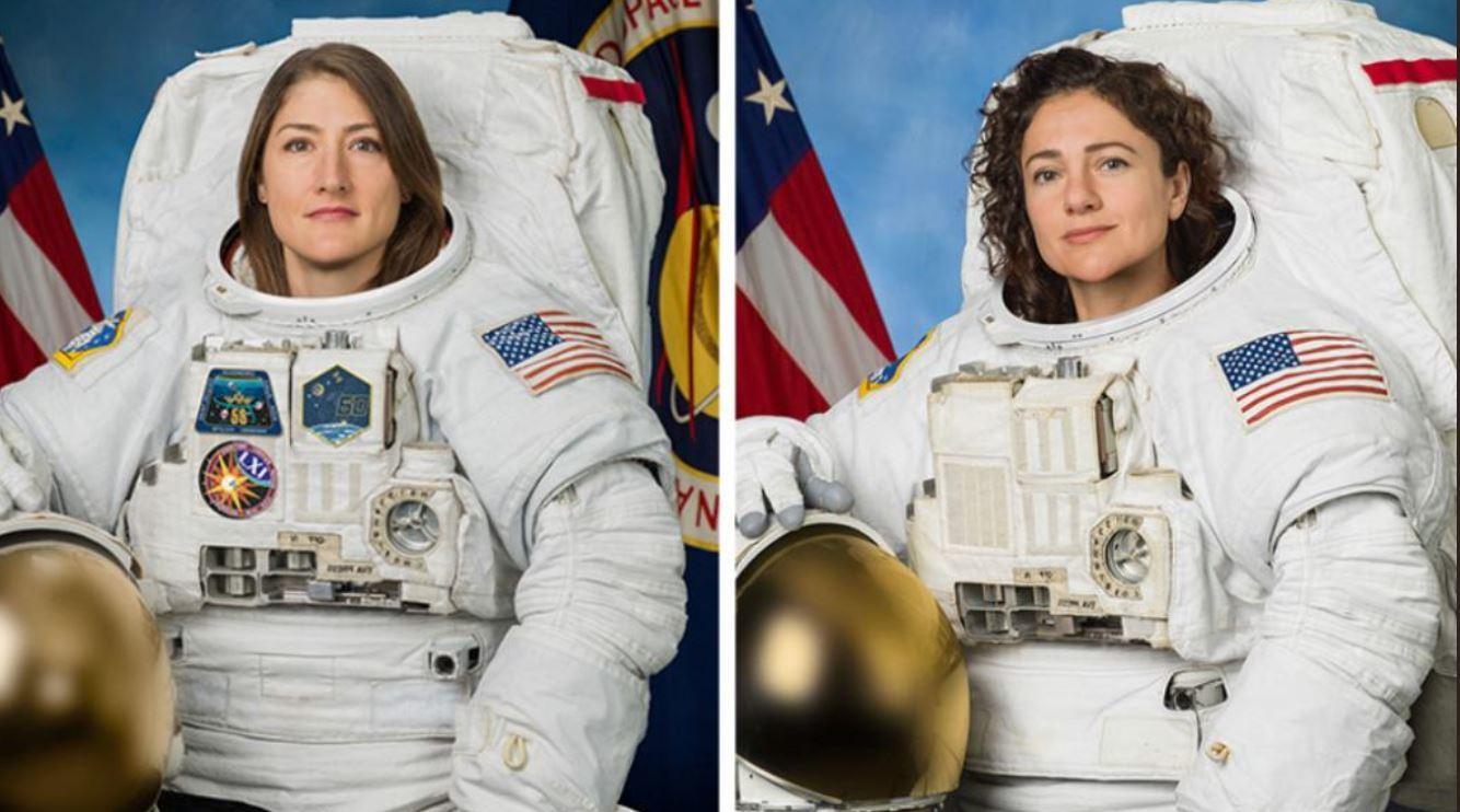 Tra oggi e domani la prima passeggiata nello spazio per sole donne