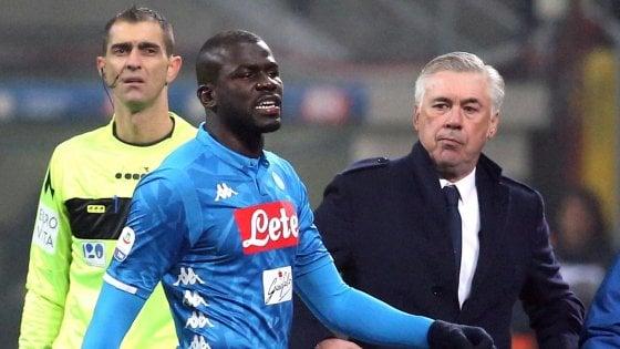 Si parla di razzismo solo grazie a Balotelli, Koulibaly e Carlo Ancelotti