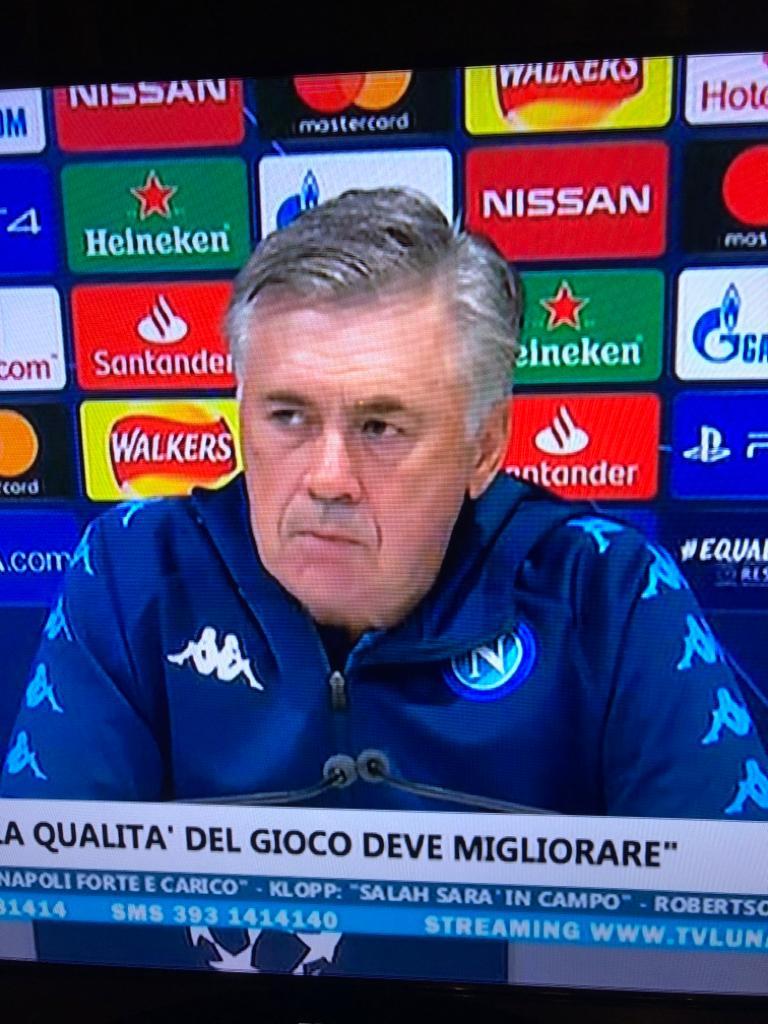 """Ancelotti: """"La squadra sa che deve fare meglio, la società sa che deve fare meglio"""""""