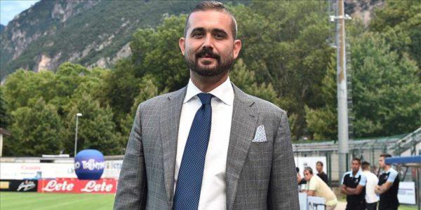 """Edo De Laurentiis: """"I calciatori sono dei dipendenti e ci vuole rispetto per la società e i tifosi"""""""
