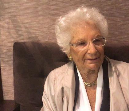 L'assessora De Majo propone la cittadinanza per Liliana Segr