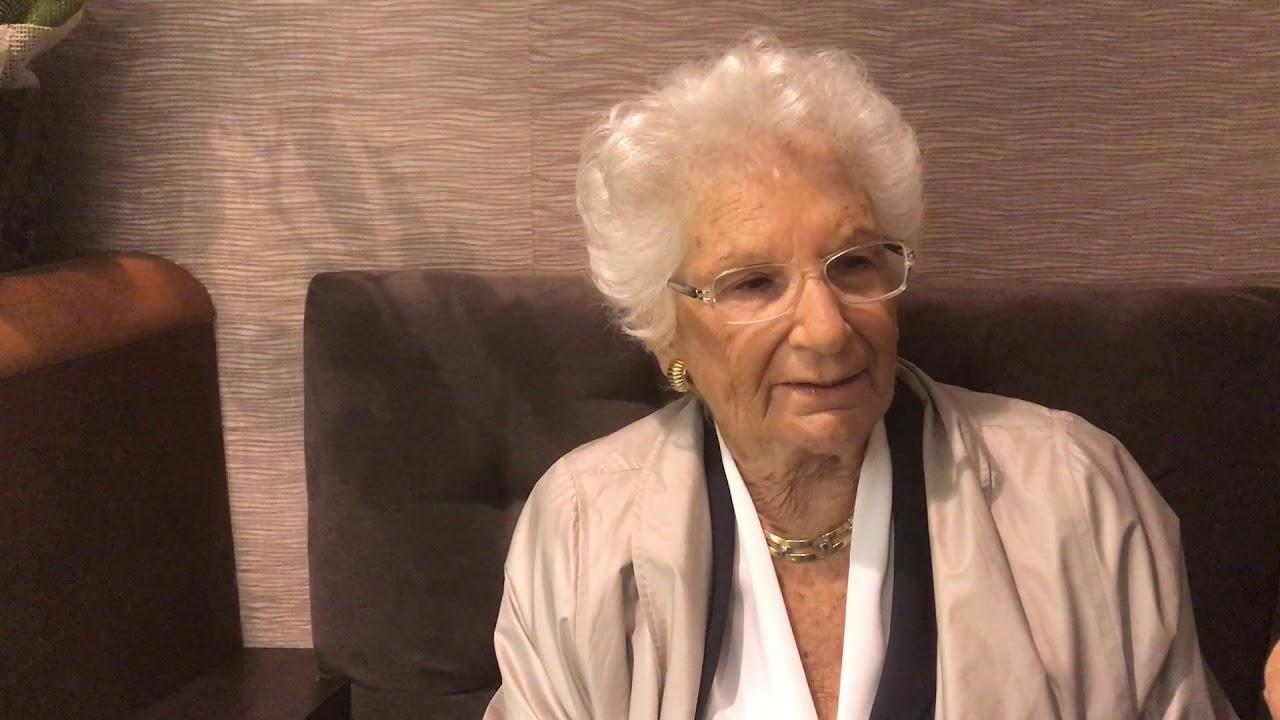 """De Majo propone la cittadinanza di Napoli per Liliana Segre. Lei risponde: """"No alle strumentalizzazioni"""""""