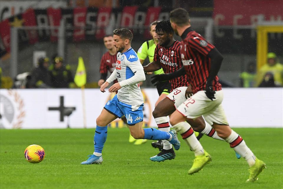 Napoli-Milan, dove vedere la partita in tv