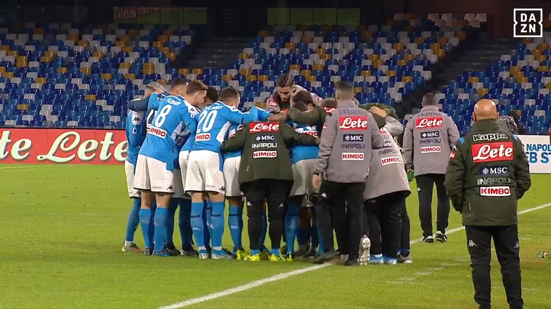 I calciatori del Napoli non hanno riconosciuto la leadership di Ancelotti