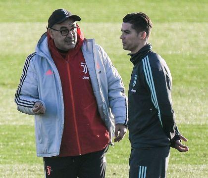 Sarri: «A fine partita ho capito quanto Ronaldo soffriva per