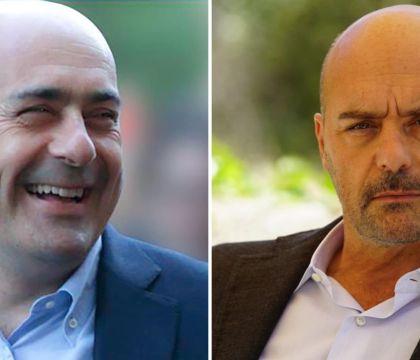 Dialogo tra Montalbano e Zingaretti