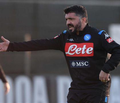 """Repubblica: Gattuso in allenamento: """"Vi do un minuto per ber"""