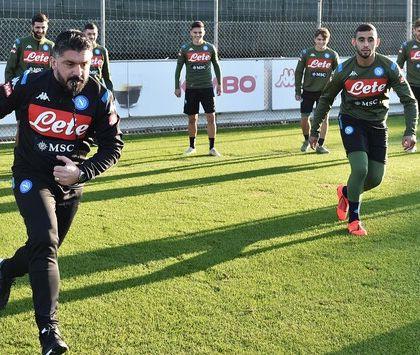 CorSport: Napoli affaticato, Gattuso pensa al secondo giorno