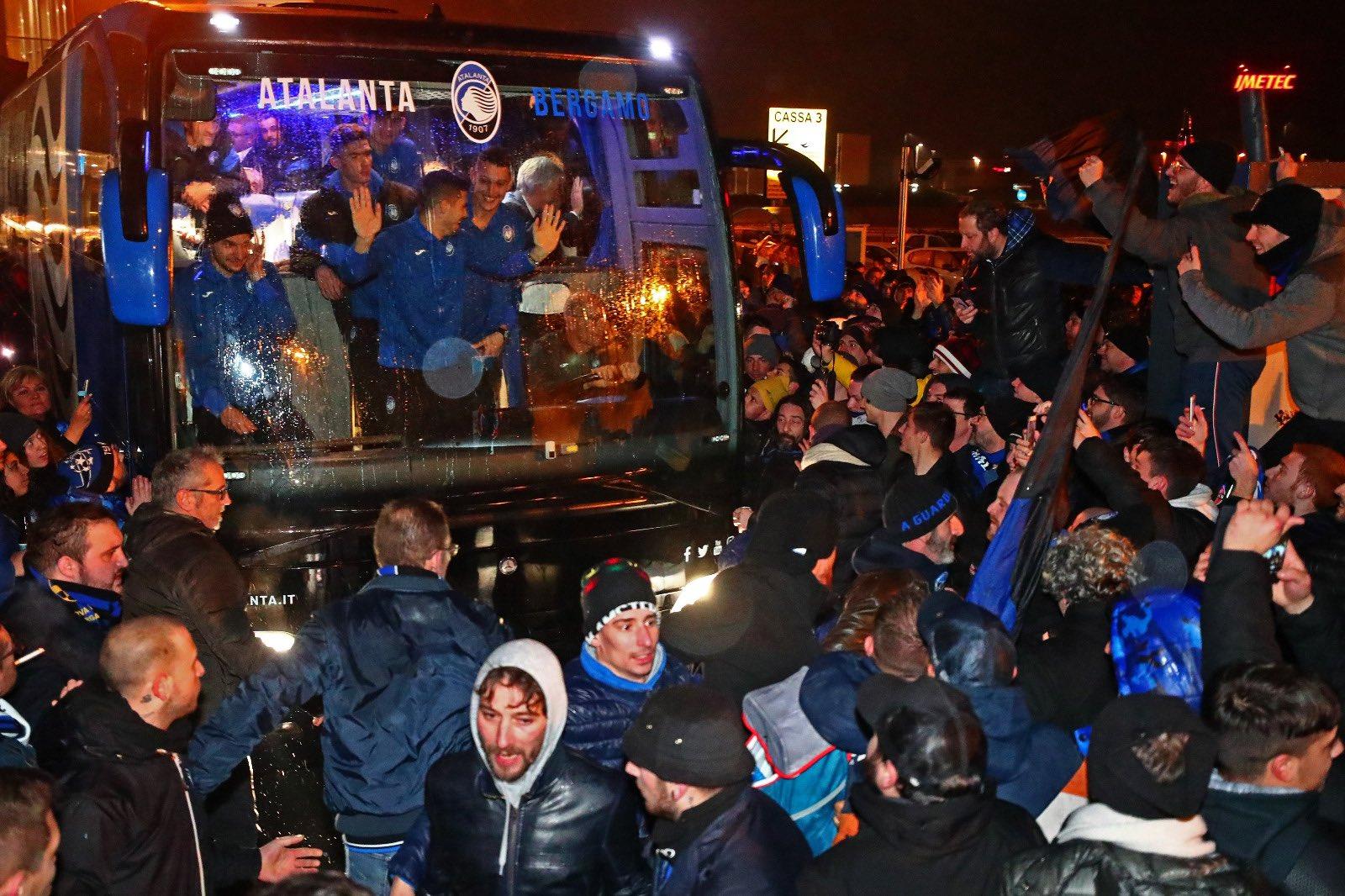 Garanzini: il calcio dell'Atalanta è realista e coraggioso e non contempla la rinuncia