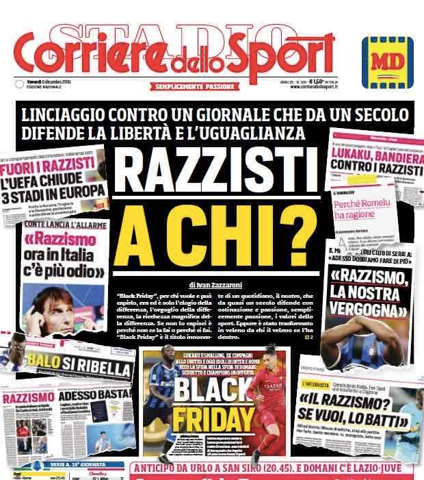 """Il day after del CorSport: """"Linciaggio senza precedenti"""". E Zazzaroni critica la Roma"""