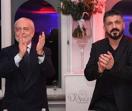 Gattuso rinnoverà solo se De Laurentiis eliminerà la clausola rescissoria da 7 milioni