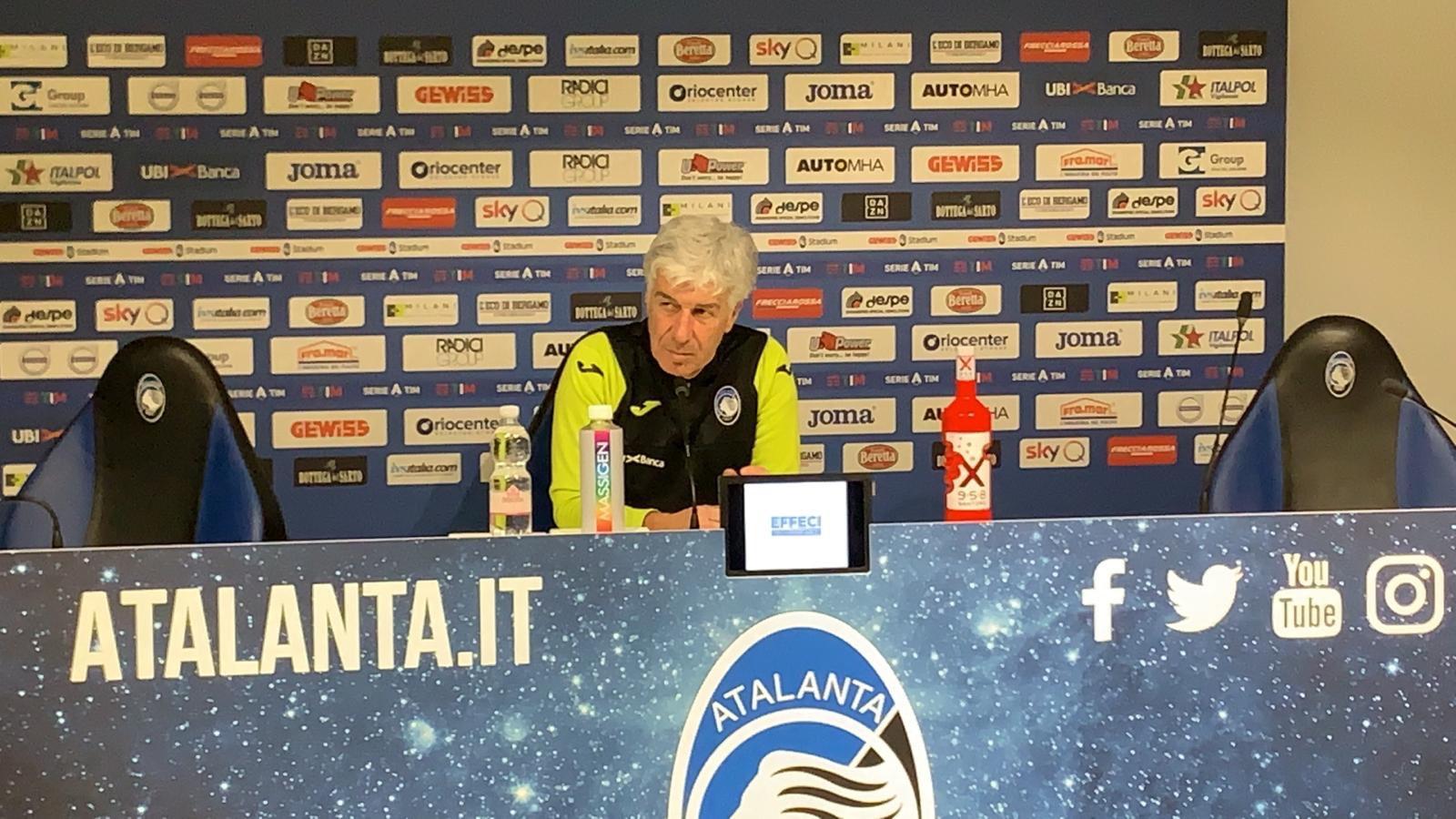 """Gasperini: """"Dopo l'Inter c'è stato un calo nervoso. Ora bisogna ripartire"""""""