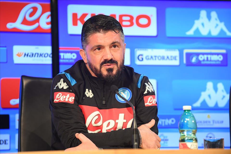 Gattuso: «I primi 15 minuti sono la fotografia del Napoli»
